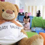 cvičenia s deťmi s mackom